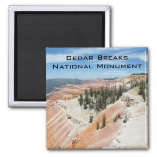 Cedar Brakes National Monument 2 Inch Square Magnet