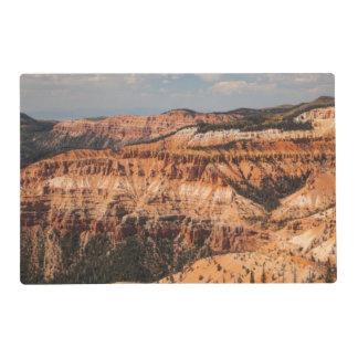 Cedar Breaks National Monument, Utah Laminated Placemat
