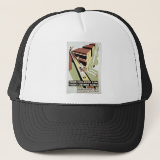 Cedar Central Public Housing Trucker Hat
