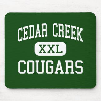 Cedar Creek - Cougars - High - Ruston Louisiana Mouse Pad