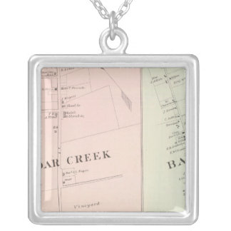 Cedar Creek, Goodluck Bayville, New Jersey Silver Plated Necklace