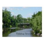 Cedar Creek Interurban Bridge Postcard