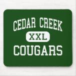 Cedar Creek - pumas - alto - Ruston Luisiana Alfombrilla De Ratón