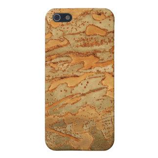Cedar Elm Bark Cover For iPhone SE/5/5s
