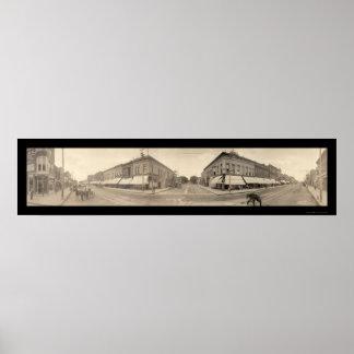 Cedar Falls, foto 1907 de IA Póster