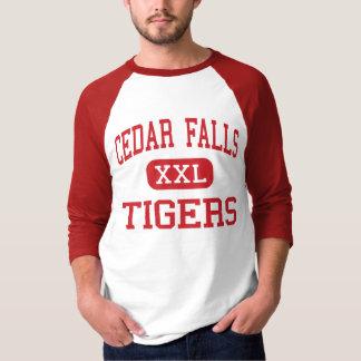 Cedar Falls - Tigers - High - Cedar Falls Iowa T-Shirt