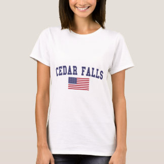Cedar Falls US Flag T-Shirt