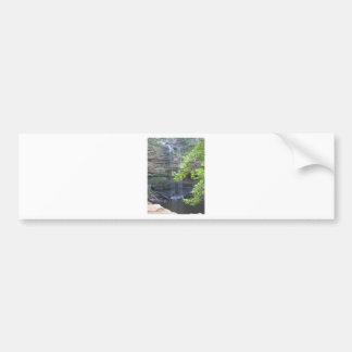 Cedar Falls Water Fall Car Bumper Sticker