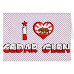Cedar Glen, CA Greeting Cards