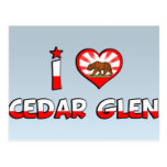 Cedar Glen, CA Post Card