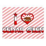 Cedar Glen, CA Post Cards