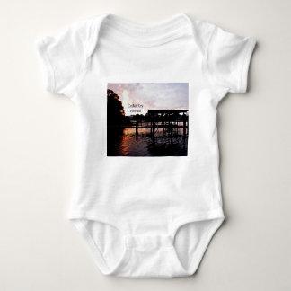 Cedar Key Bayou - Florida Art Baby Bodysuit