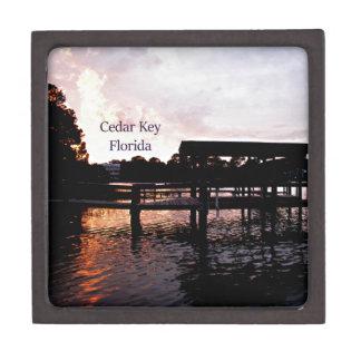 Cedar Key Bayou - Florida Art Gift Box