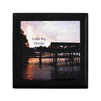 Cedar Key Bayou - Florida Art Jewelry Box