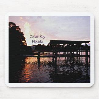 Cedar Key Bayou - Florida Art Mouse Pad