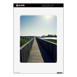 Cedar Key Fishing Pier Skins For The iPad