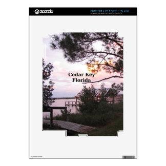 Cedar Key Florida iPad 3 Skins