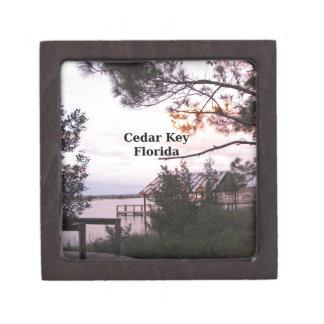 Cedar Key Florida Keepsake Box