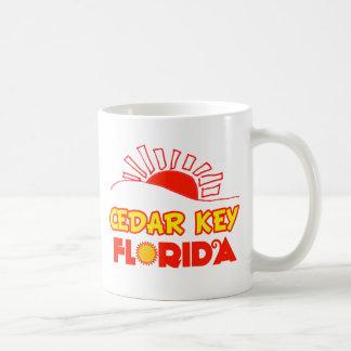 Cedar Key, Florida Classic White Coffee Mug