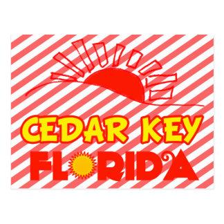Cedar Key, Florida Postcard