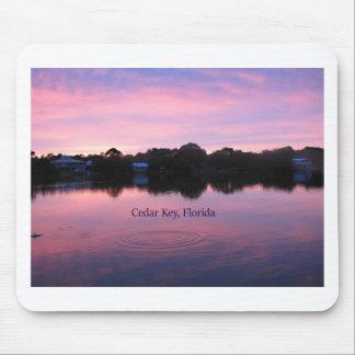 Cedar Key Florida Sunset Mouse Pad