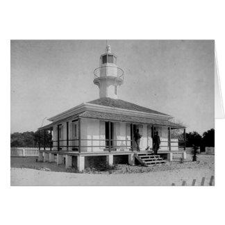 Cedar Key Lighthouse Card