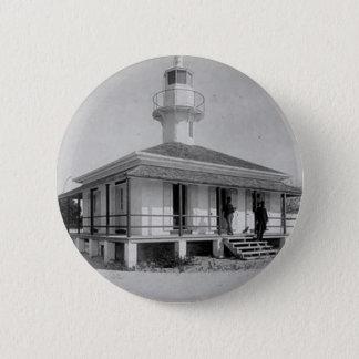 Cedar Key Lighthouse Pinback Button
