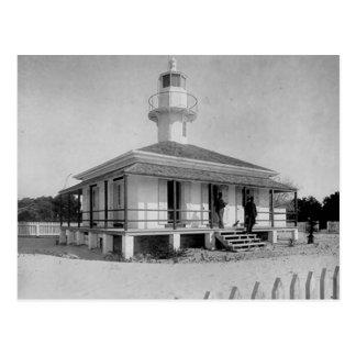 Cedar Key Lighthouse Postcard
