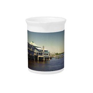 Cedar Key Marina Drink Pitcher