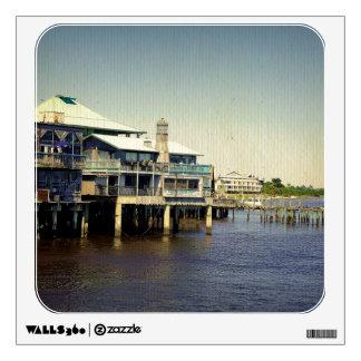 Cedar Key Marina Wall Sticker