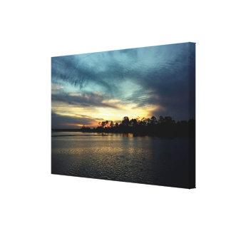 Cedar Key Sunset 4 Canvas Print