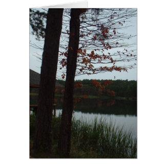 Cedar Lake Greeting Card