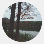 Cedar Lake Classic Round Sticker