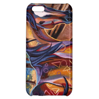 Cedar Lake Horse Case Savvy iPhone 5 Glossy Finish iPhone 5C Covers