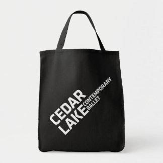 Cedar Lake Tote Grocery Tote Bag