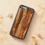 Cedar Look Carved® Maple iPhone 6 Bumper Case