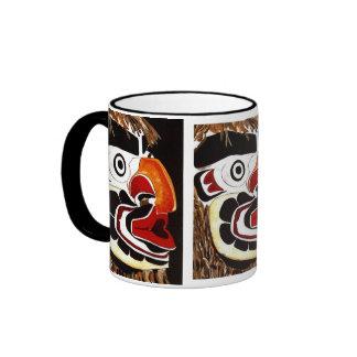 Cedar Mask Ringer Mug