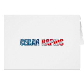 Cedar Rapids Card