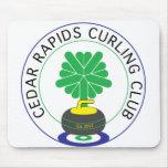 Cedar Rapids Curling Club Mouse Pads