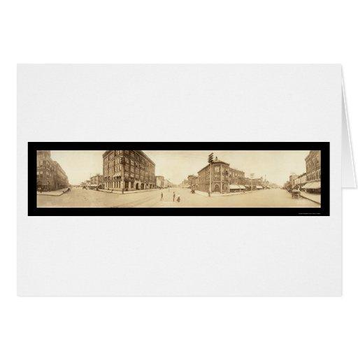 Cedar Rapids, foto 1907 de IA Tarjetas