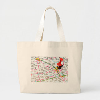 Cedar Rapids, Iowa Large Tote Bag