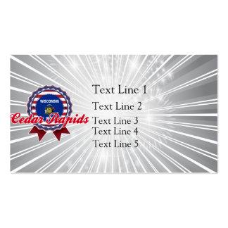 Cedar Rapids WI Business Card Templates