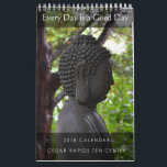 "Cedar Rapids Zen Center 2018 Calendar<br><div class=""desc"">If you enjoyed our 2016 calendar, you will enjoy our 2018 one too. Our monthly calendar features images from around Cedar Rapids Zen Center paired with dharma teachings from our resident teacher, Zuiko Redding. It also has all-day sitting, sesshin, and introduction to zazen dates marked for each month, To learn...</div>"