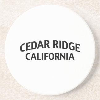 Cedar Ridge California Drink Coasters