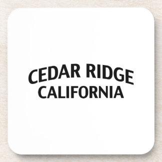 Cedar Ridge California Drink Coaster