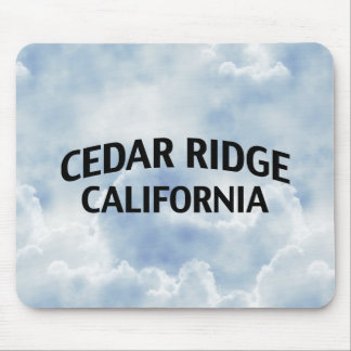 Cedar Ridge California Mouse Pads