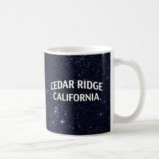 Cedar Ridge California Mug