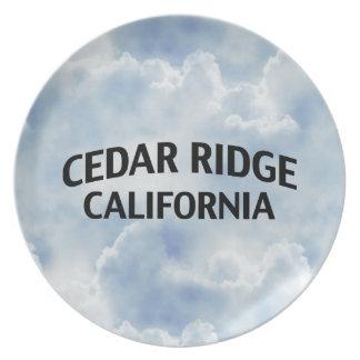 Cedar Ridge California Dinner Plates