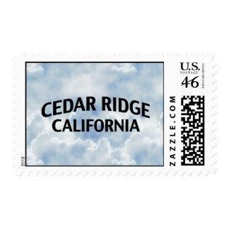 Cedar Ridge California Stamps