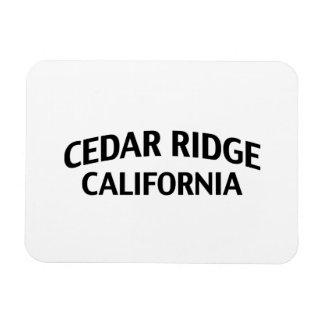 Cedar Ridge California Vinyl Magnets